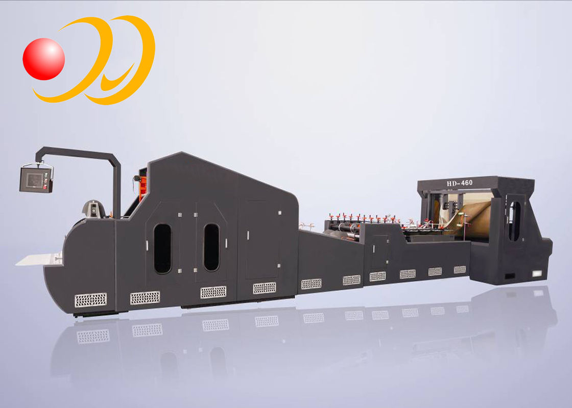 High Speed Paper Bag Making Machine Central Sealing Bottom  With Window