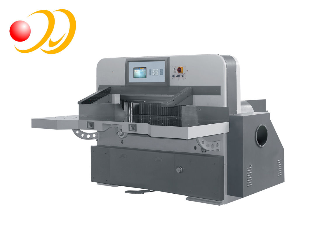 Automatic Programmed Paper Cutting Machine With 10inch Touch Screen Computer
