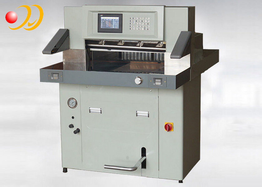 Paper Roll Cutting Machine , Automatic Paper Cutter High Precision