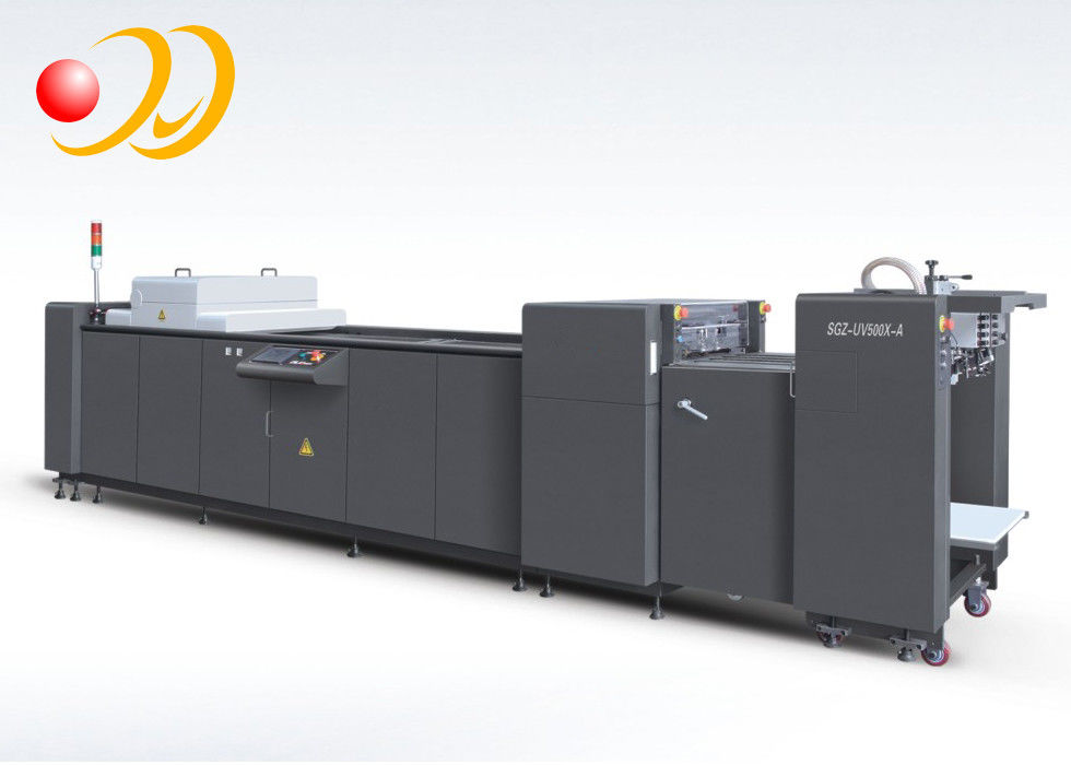 12 Inche Fully Automatic UV Coating Machine PLC Control System