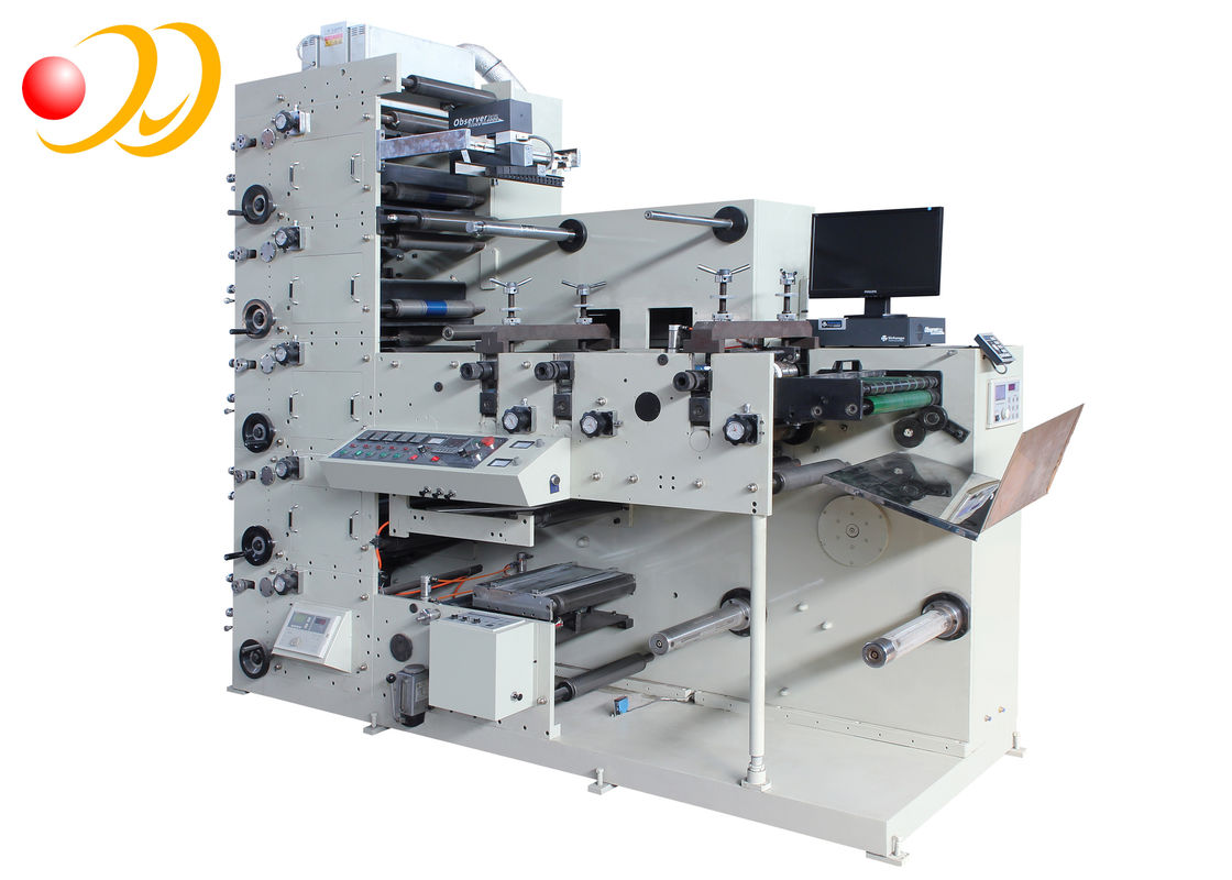 Multi - Function Flexo Printing Machine Automatic For Rotary Die Cutting