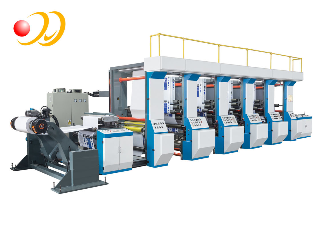 High - Speed Wide Offset Printing Press , Sticker Printing Machine