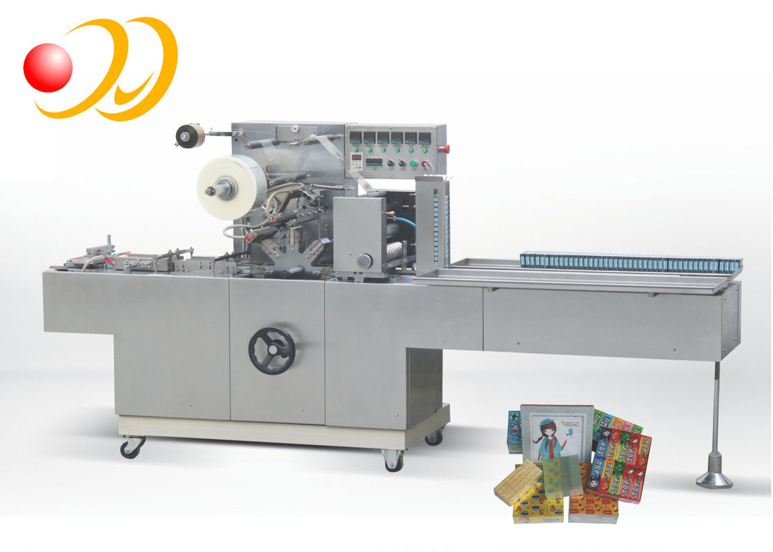 High Speed Cling Carton Wrapping Machine Plastic Packaging Notepape
