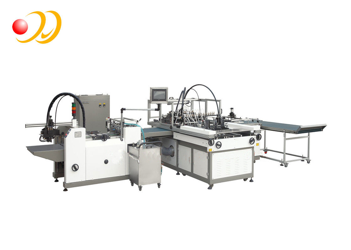 Flute Laminator Machine , Industrial Book Lamination Machine