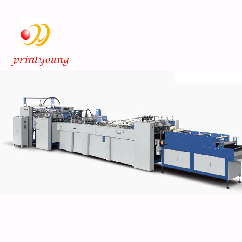 Sheet Feeding Food Bag Tube Forming Machine inding 25-40mm Reinforced Paper Width