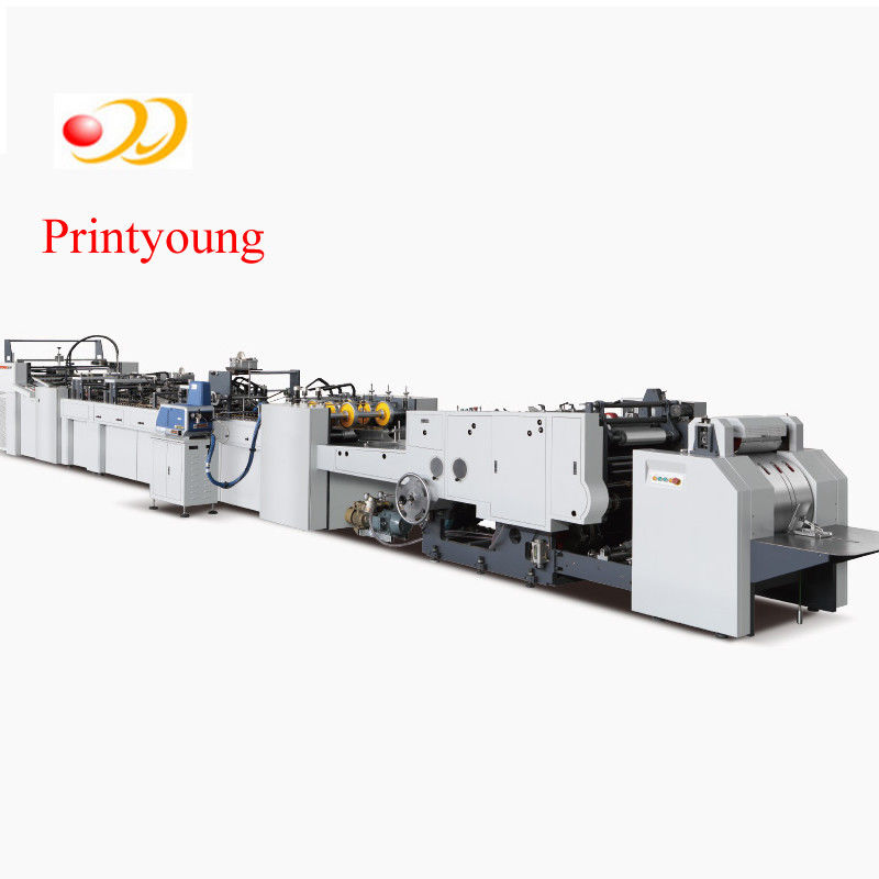 Automatic Sheet Feeding Paper Bag Making Machine With Handle Application