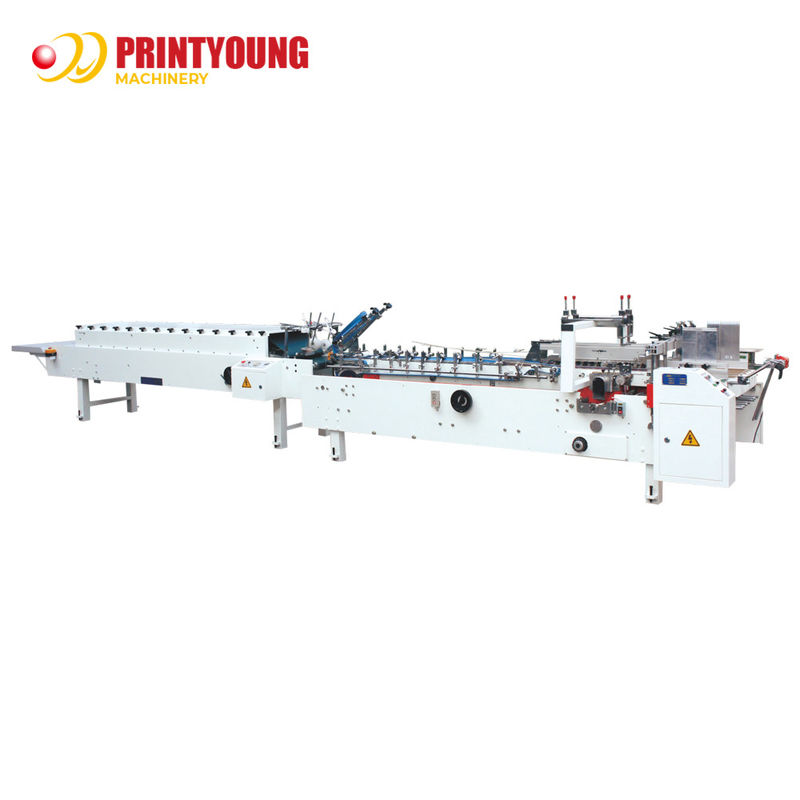 ZH-600 Easy Operation Stable Automatic Folder Gluer Machine with Straight Line